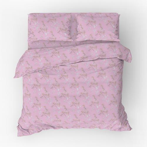 Веточка постельное белье поплин