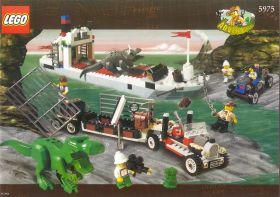 5975 Лего Транспортировка тираннозавра