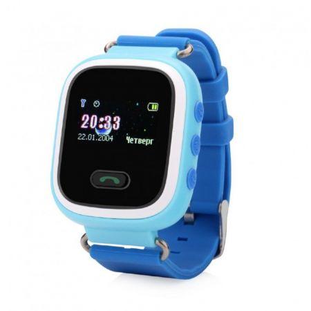 Умные детские часы с GPS Smart Baby Watch Q60S синие