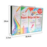 Super Mega Art Set 168 - размеры