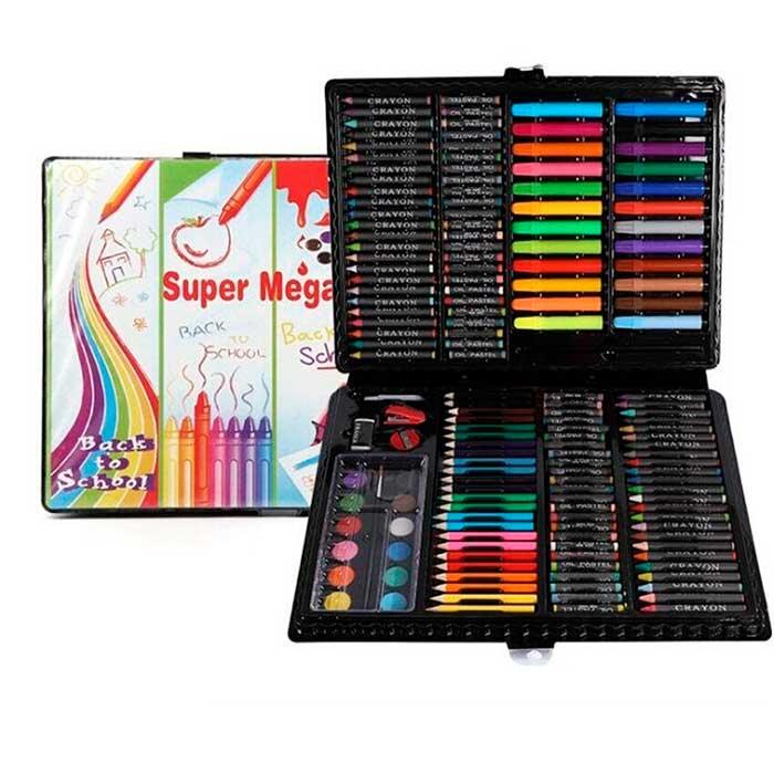 Набор для детского творчества в чемоданчике Super Mega Art Set