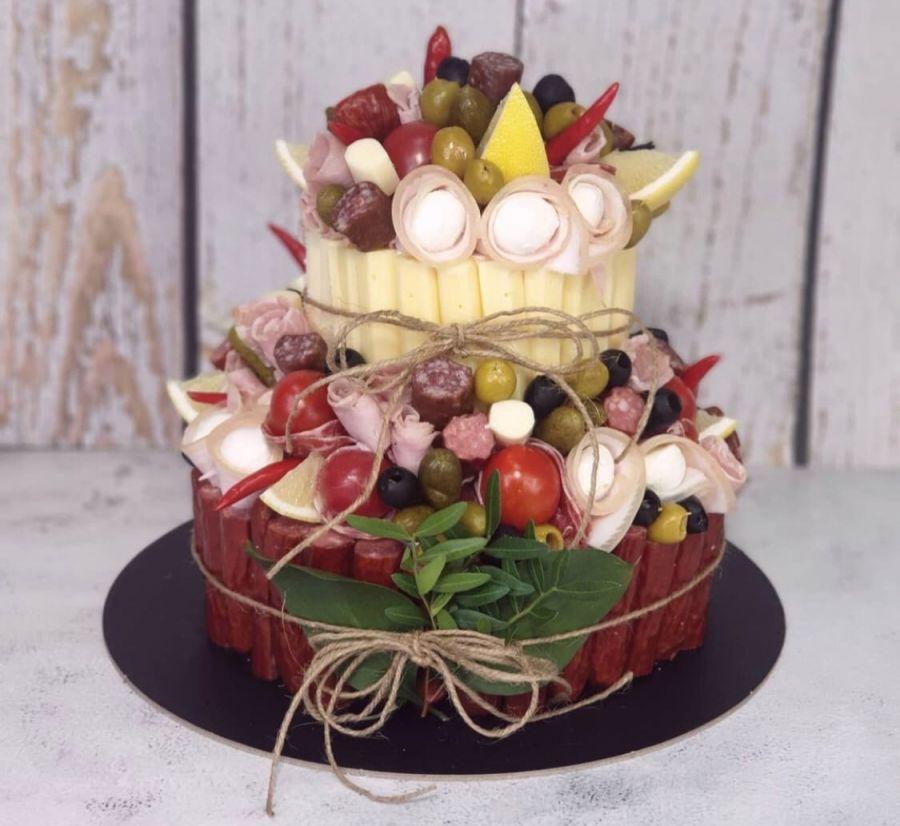 Мясной торт Малый