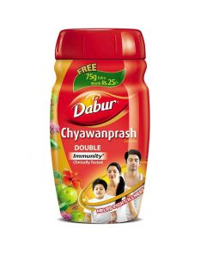 Чаванпраш Двойной иммунитет   Chyawanprash DOUBLE Immunity   575 г   Dabur