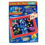 Магический планшет для рисования с подсветкой, упаковка