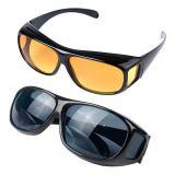 Антибликовые очки HD VISION Wrap Arounds, 2 пары