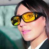 Антибликовые очки HD VISION Wrap Arounds можно надевать поверх обычных очков