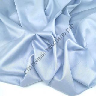 Сатин люкс бледно-голубой