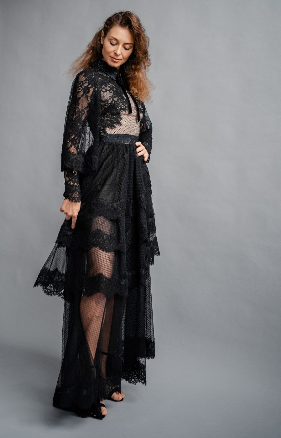Платье вечернее Roman Rush Couture