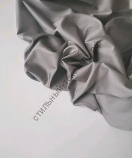 Сатин люкс серый графит