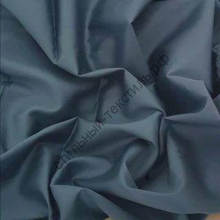 Сатин люкс синий стальной