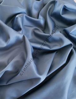 Сатин люкс синий