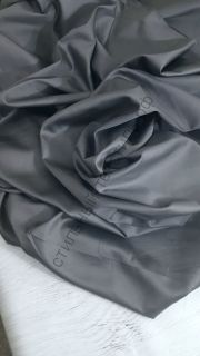 Сатин люкс графит темно-серый