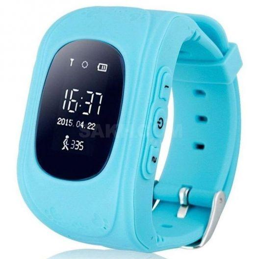 iizw Детские умные часы-телефон с GPS тpeкepoм Smart Baby Watch Q50 (СМАРТ БЕЙБИ ВОТЧ) (голубые) Новые, Гарантия, Доставка