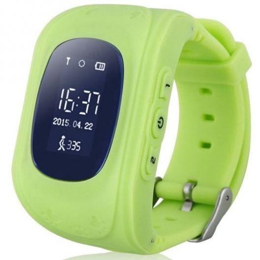 iizw Детские умные часы-телефон с GPS тpeкepoм Smart Baby Watch Q50 (СМАРТ БЕЙБИ ВОТЧ) (зеленые) Новые, Гарантия, Доставка