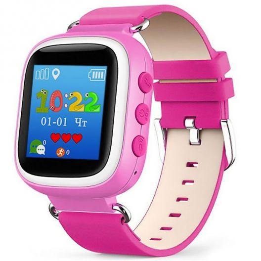 iizw Улучшенные детские умные часы-телефон с GPS-трекером Smart Baby Watch Q60S (СМАРТ БЕЙБИ ВОТЧ) (розовые) Новые, Гарантия, Доставка