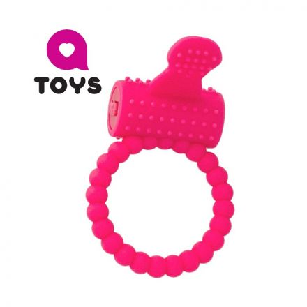 Эрекционное вибро-кольцо на пенис TOYFA A-Toys, Ø3,5 см