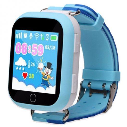 iizw Усовершенствованные детские умные часы-телефон с GPS-трекером Smart Baby Watch GW200S (СМАРТ БЕЙБИ ВОТЧ) (голубые) Новые, Гарантия, Доставка