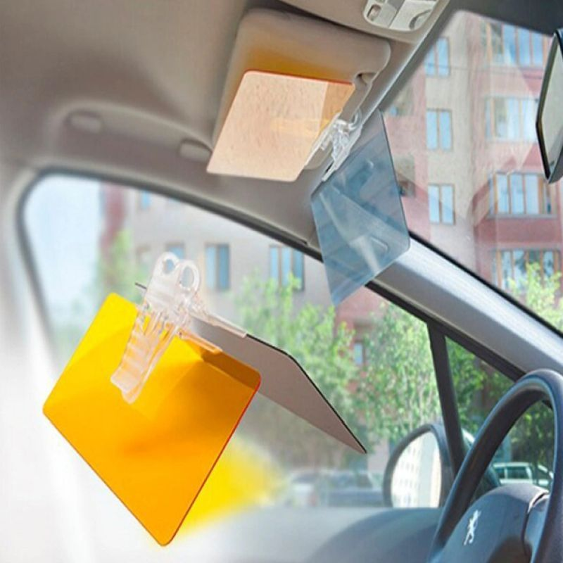 iizw Антибликовый солнцезащитный козырек (два светофильтра) в салон автомобиля. Новый, Гарантия, Доставка