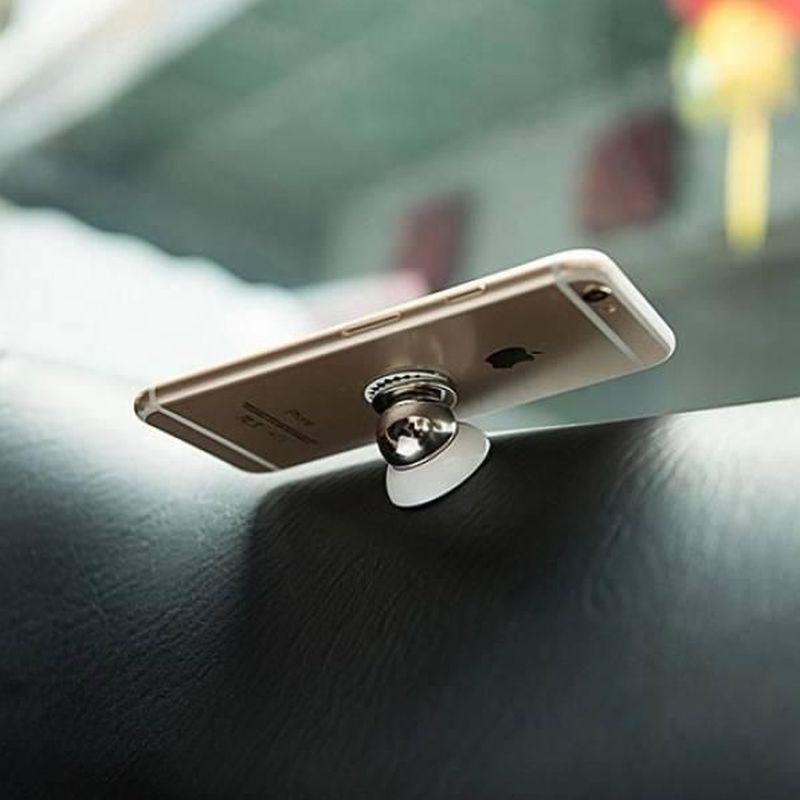 iizw Авто аксессуар держатель (магнитный шарик) в автомобиль для смартфона, телефона, планшета. Новый, Гарантия, Доставка
