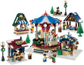 10235 Лего Зимняя ярмарка в деревне