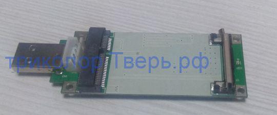 Адаптер Mini-PCI-E to USB 2
