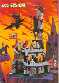 6097 Лего Замок Повелителя летучих мышей
