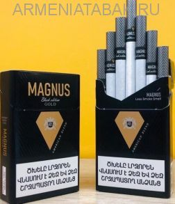 (014)Magnus black edition GOLD KS  (оригинал) АМ