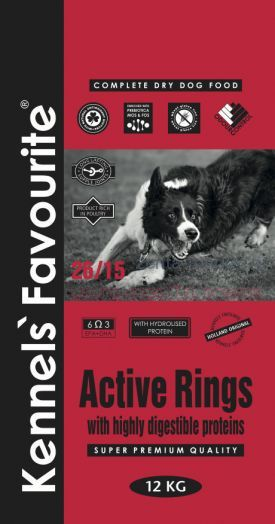 Kennels` Favourite Active Rings 4 кг, 20 кг.