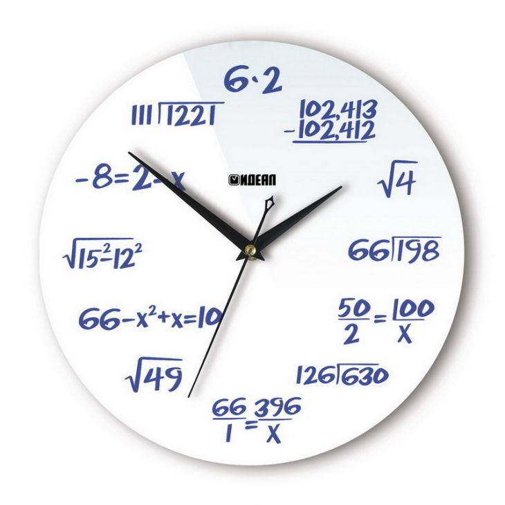 """Настенные часы """"Формулы"""""""