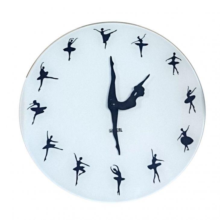 Настенные часы Ballet-Dancer-Modern-Wall-Clock