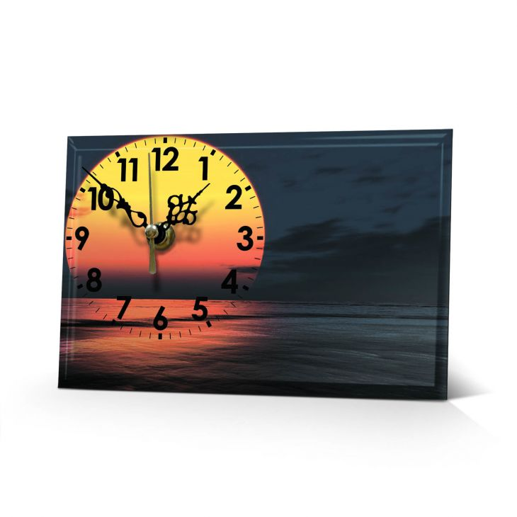 Настольные часы Закат