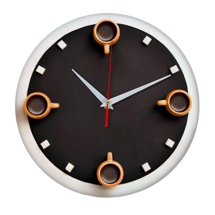 Часы настенные Кофе с сахаром