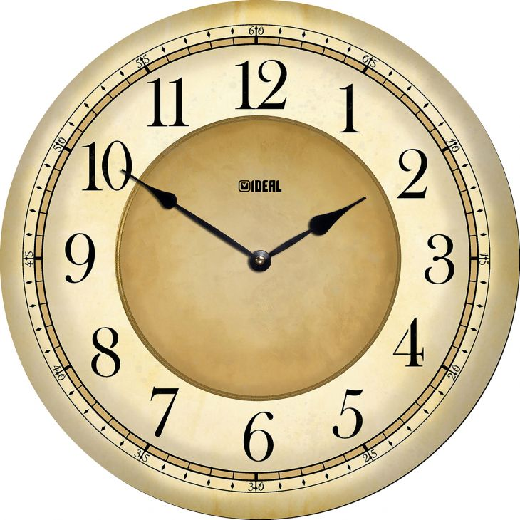Большие деревянные часы из МДФ mdr1000-d420