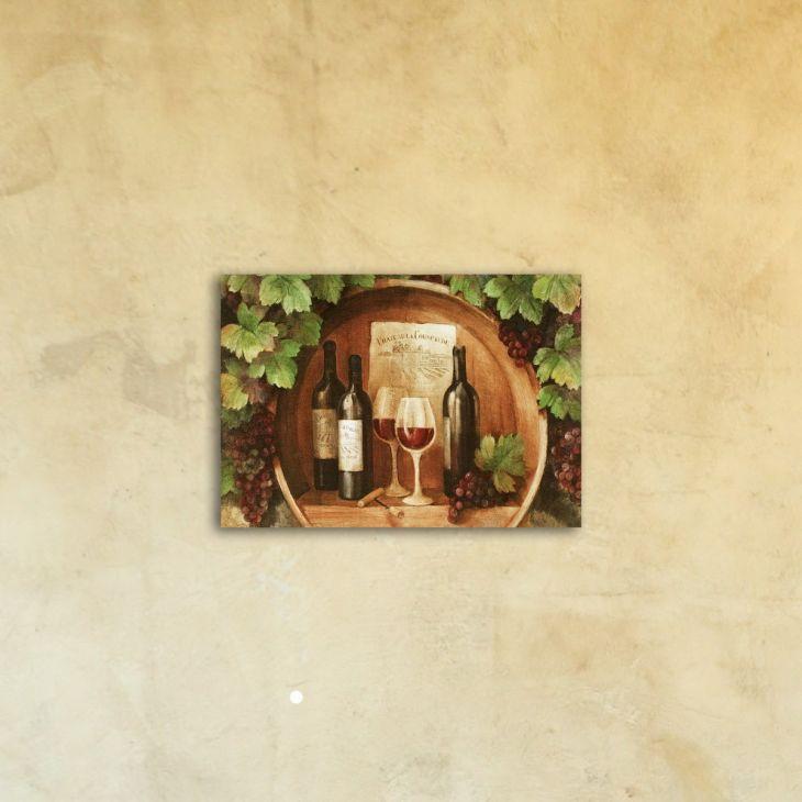 "Картина на стекле ""Дегустация"""