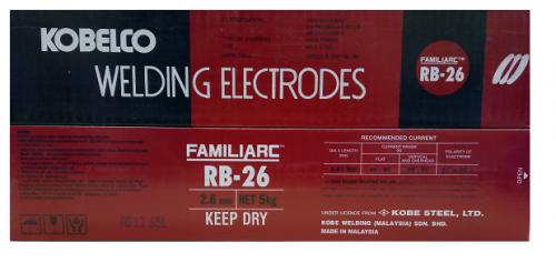 Электроды KOBE STEEL RB-26 (Малайзия)