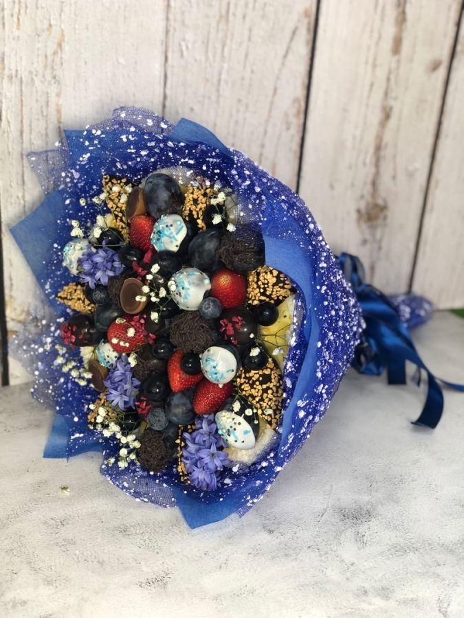 Букет из фруктов в шоколаде № 12