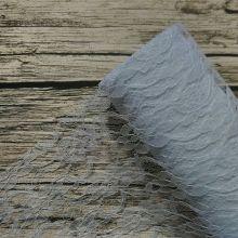 кружево  цвет БЕЛЫЙ материал полиэстер ( плотное, не тянется) ширина 15 см цена за метр