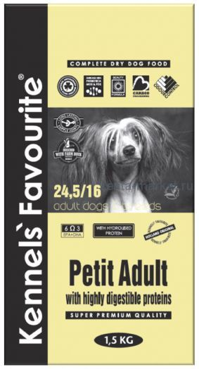Kennels` Favourite Petit Adult 1,5 кг