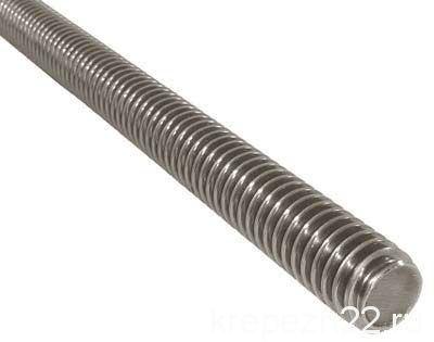 Шпилька метровая DIN 975 резьбовая, нержавеющая сталь А2