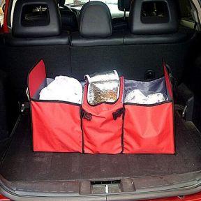 iizw Сумка-органайзер с отделением-холодильником в багажник автомобиля TRUNK ORGANIZER & COOLER (красная) Новая, Гарантия, Доставка