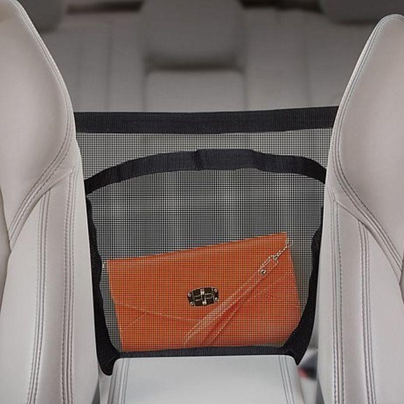iizw Органайзер-сетка для размещения дамских сумочек, кошельков и другого багажа в салоне автомобиля PURSE POUCH (ПУРС ПУЧ) Новый, Гарантия, Доставка