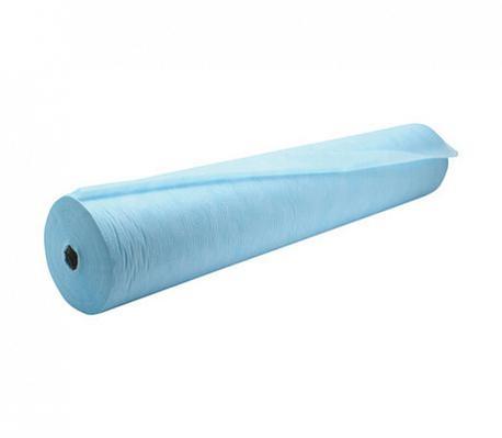 Простыни 200*70 (СМС 20) в рулоне №100, цвет: голубой