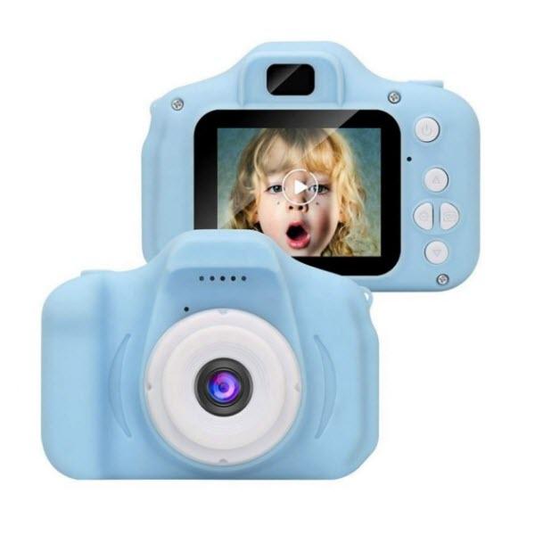 Детский цифровой мини фотоаппарат. Цвет: Голубой