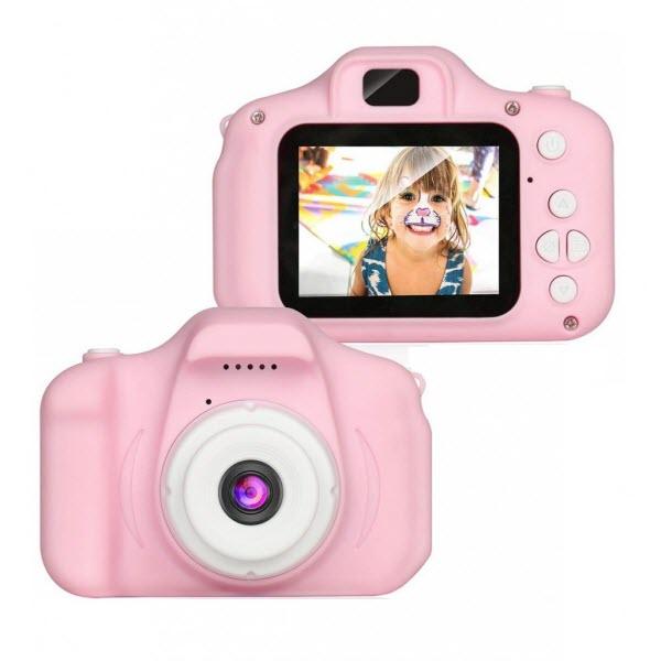 Детский цифровой мини фотоаппарат. Цвет: Розовый