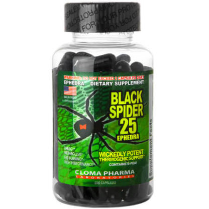 Black Spider 25mg Eph(Cloma Pharma)