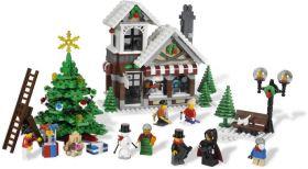10249 / 10199 Лего Зимний магазин игрушек