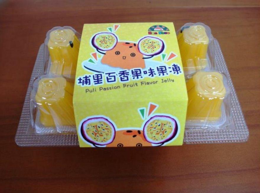 """Желе фруктовое """"Пудинг со вкусом Маракуйи"""" 280гр """"HAN SHUO"""""""