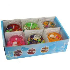 iizw Подарочный набор из шести маленьких гелевых свечек в прозрачных стаканчиках. Новый, Гарантия, Доставка