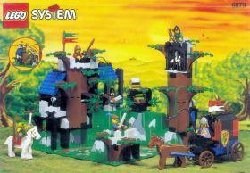 6079 Лего Крепость разбойников в темном лесу
