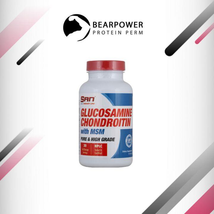 Glucosamine Chondroitin MSM (SAN) 90 таб